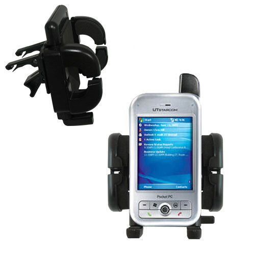 Vent Swivel Car Auto Holder Mount compatible with the HTC 6700Q Qwest