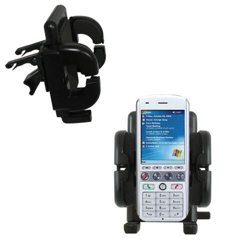 Vent Swivel Car Auto Holder Mount compatible with the HTC Amadeus
