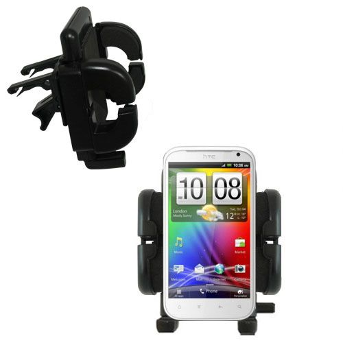 Vent Swivel Car Auto Holder Mount compatible with the HTC Bliss