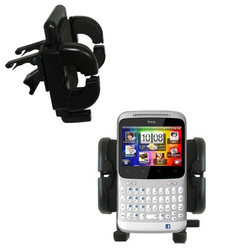 Vent Swivel Car Auto Holder Mount compatible with the HTC ChaCha