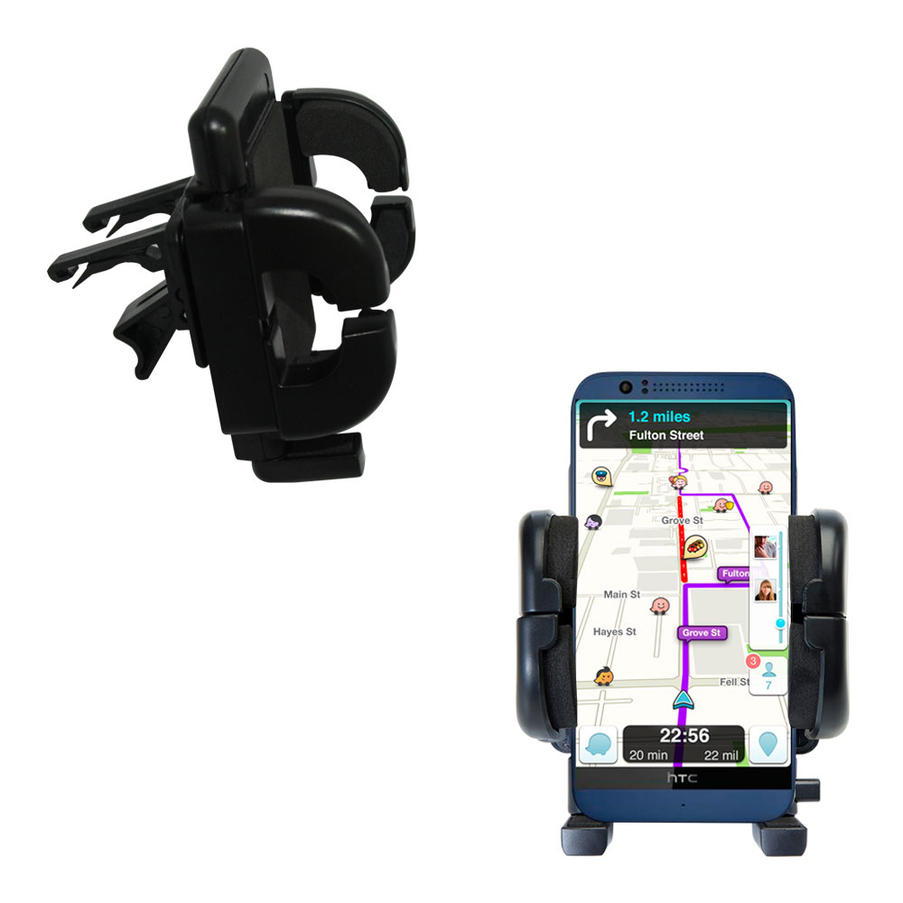Vent Swivel Car Auto Holder Mount compatible with the HTC Desire 510