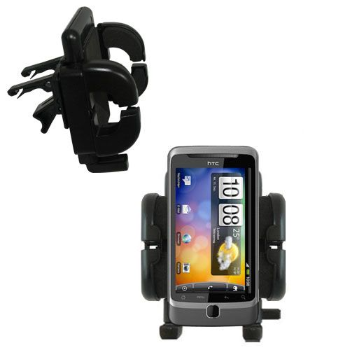 Vent Swivel Car Auto Holder Mount compatible with the HTC Desire Z