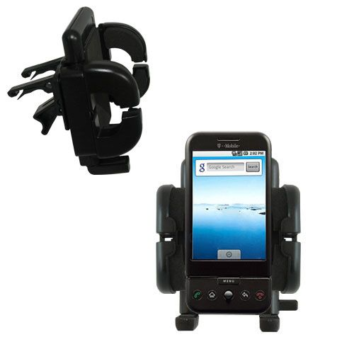 Vent Swivel Car Auto Holder Mount compatible with the HTC Dream
