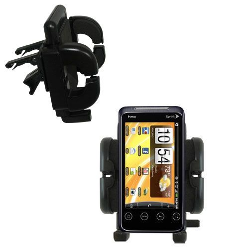 Vent Swivel Car Auto Holder Mount compatible with the HTC Evo Shift 4G
