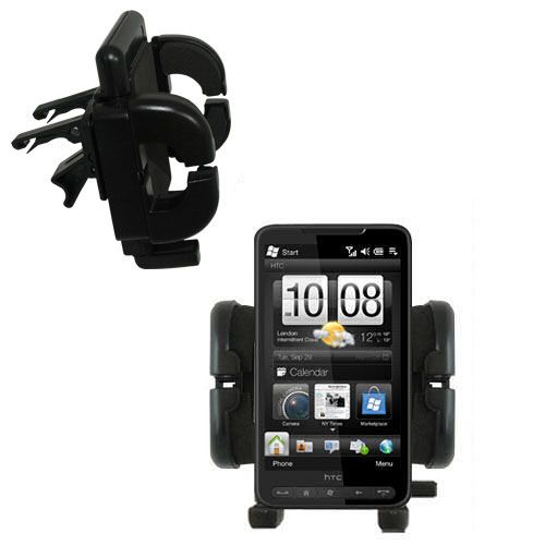 Vent Swivel Car Auto Holder Mount compatible with the HTC HD2