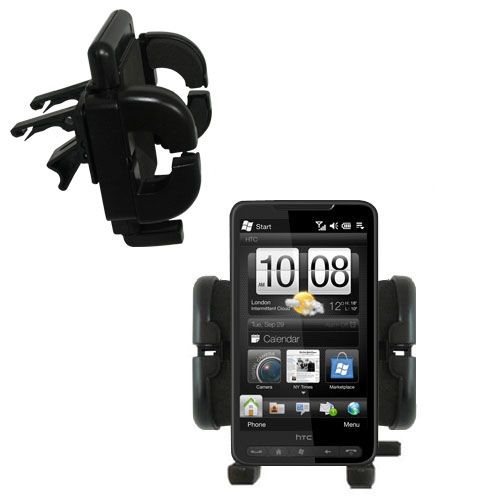 Vent Swivel Car Auto Holder Mount compatible with the HTC HD3
