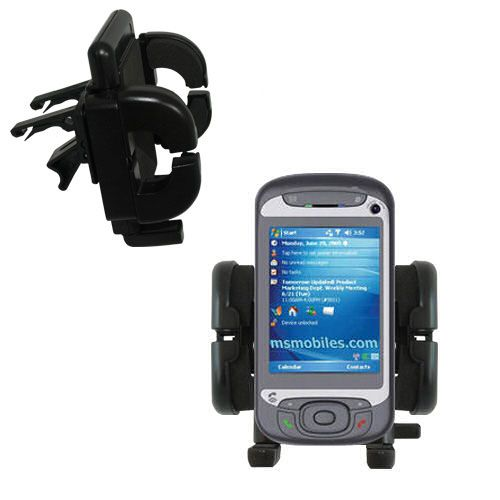 Vent Swivel Car Auto Holder Mount compatible with the HTC Hermes