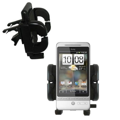 Vent Swivel Car Auto Holder Mount compatible with the HTC Hero 4G
