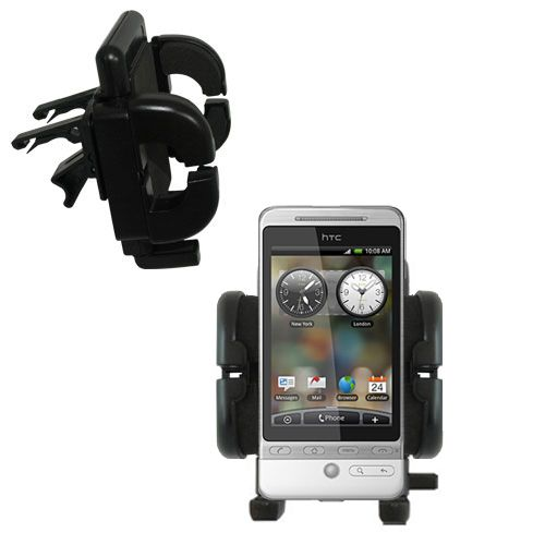 Vent Swivel Car Auto Holder Mount compatible with the HTC Hero S