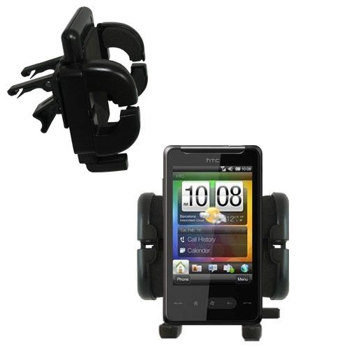 Vent Swivel Car Auto Holder Mount compatible with the HTC HTC 7 Surround