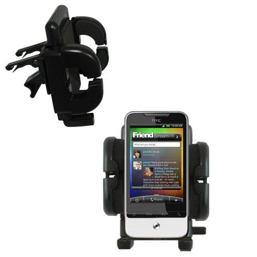 Vent Swivel Car Auto Holder Mount compatible with the HTC Legend
