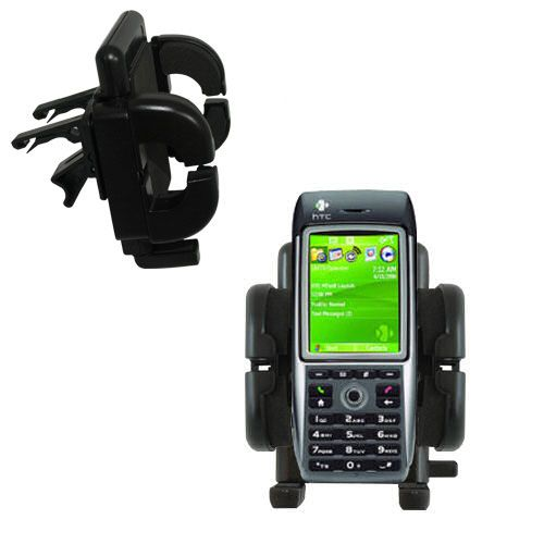 Vent Swivel Car Auto Holder Mount compatible with the HTC MTeoR