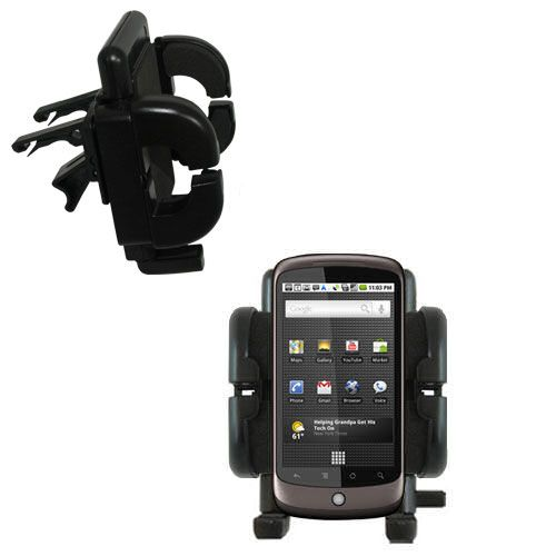 Vent Swivel Car Auto Holder Mount compatible with the HTC Nexus One