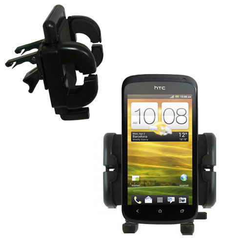 Vent Swivel Car Auto Holder Mount compatible with the HTC One S / Ville