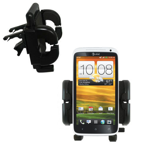 Vent Swivel Car Auto Holder Mount compatible with the HTC One X
