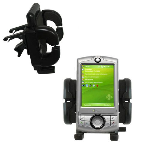 Vent Swivel Car Auto Holder Mount compatible with the HTC P3350