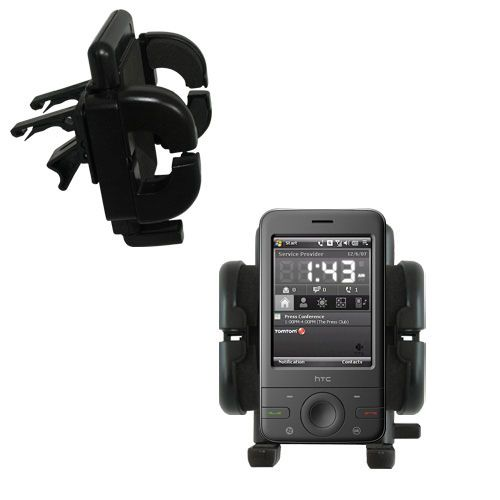 Vent Swivel Car Auto Holder Mount compatible with the HTC P3470