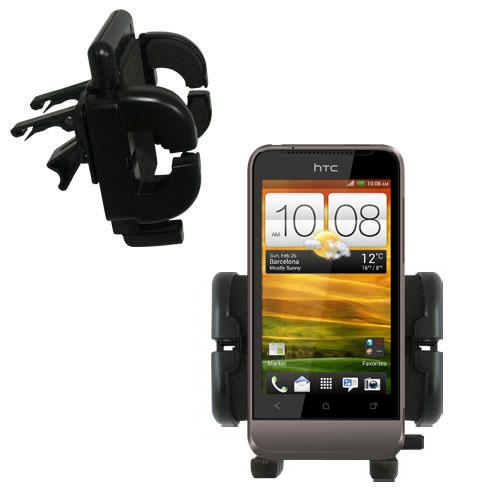 Vent Swivel Car Auto Holder Mount compatible with the HTC Primo / T320e