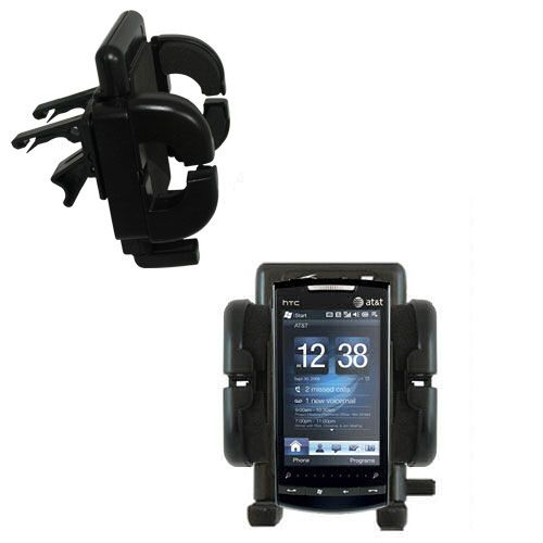 Vent Swivel Car Auto Holder Mount compatible with the HTC Pure