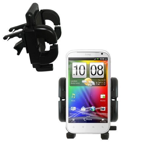 Vent Swivel Car Auto Holder Mount compatible with the HTC Runnymede