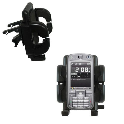 Gomadic Air Vent Clip Based Cradle Holder Car / Auto Mount suitable for the HTC S730 - Lifetime Warranty