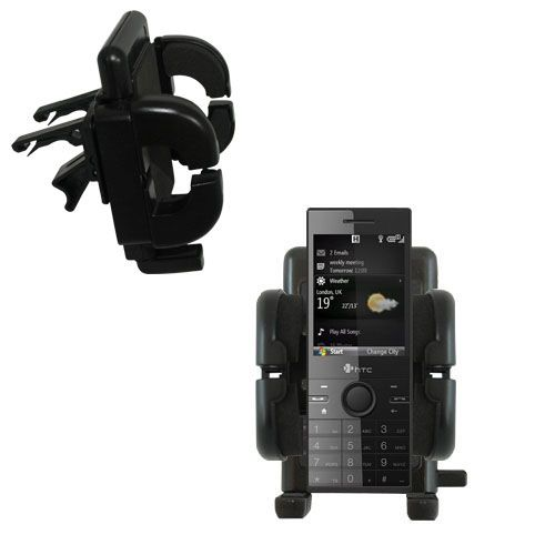 Vent Swivel Car Auto Holder Mount compatible with the HTC S740 S730 S720 S710
