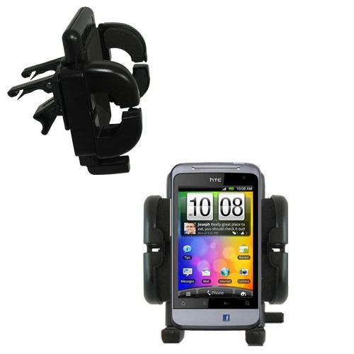 Vent Swivel Car Auto Holder Mount compatible with the HTC Salsa