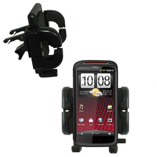 Vent Swivel Car Auto Holder Mount compatible with the HTC Sensation XE