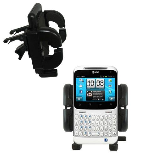 Vent Swivel Car Auto Holder Mount compatible with the HTC Status