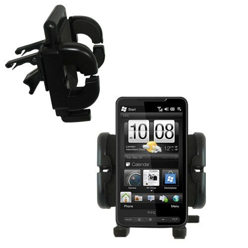 Vent Swivel Car Auto Holder Mount compatible with the HTC Supersonic