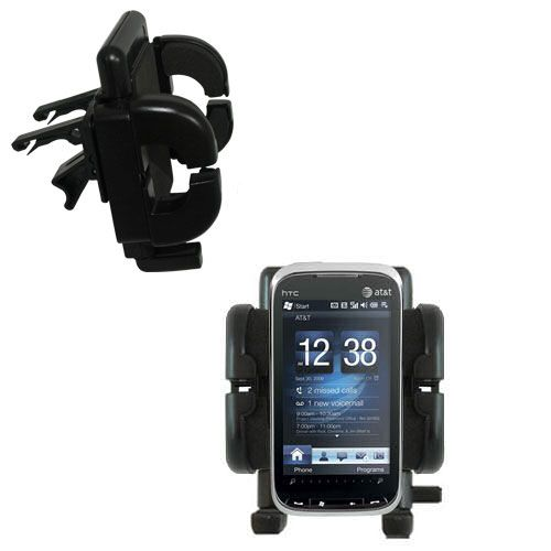 Vent Swivel Car Auto Holder Mount compatible with the HTC Tilt2