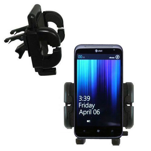 Vent Swivel Car Auto Holder Mount compatible with the HTC Titan II