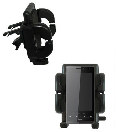 Vent Swivel Car Auto Holder Mount compatible with the HTC Warhawk