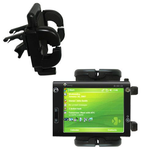 Vent Swivel Car Auto Holder Mount compatible with the HTC X7500