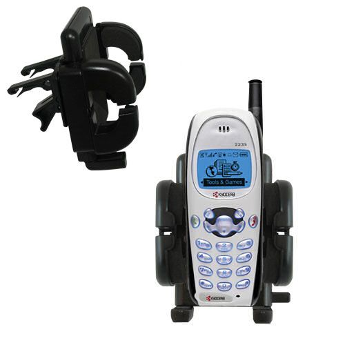 Vent Swivel Car Auto Holder Mount compatible with the Kyocera KWC 2235