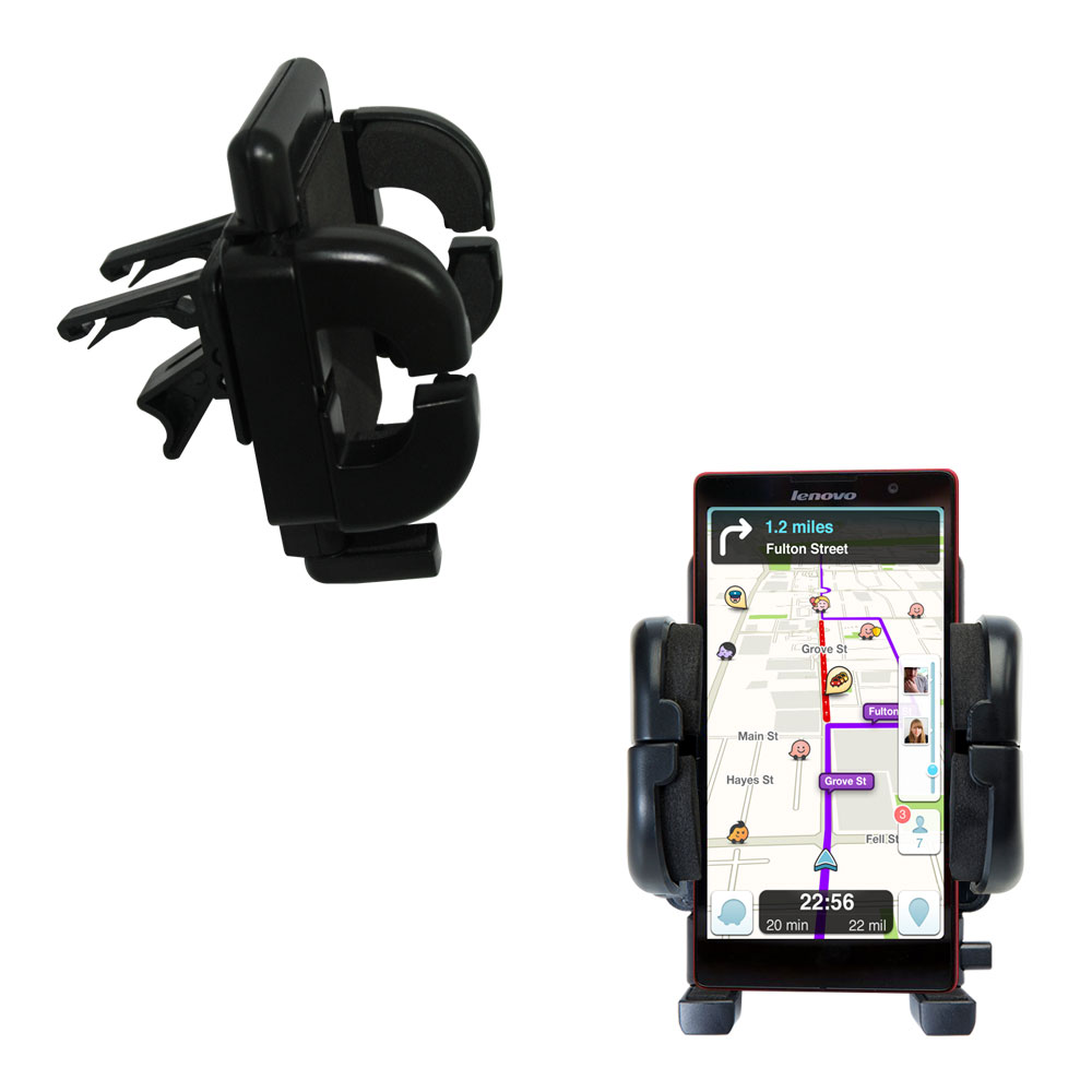 Vent Swivel Car Auto Holder Mount compatible with the Lenovo P90