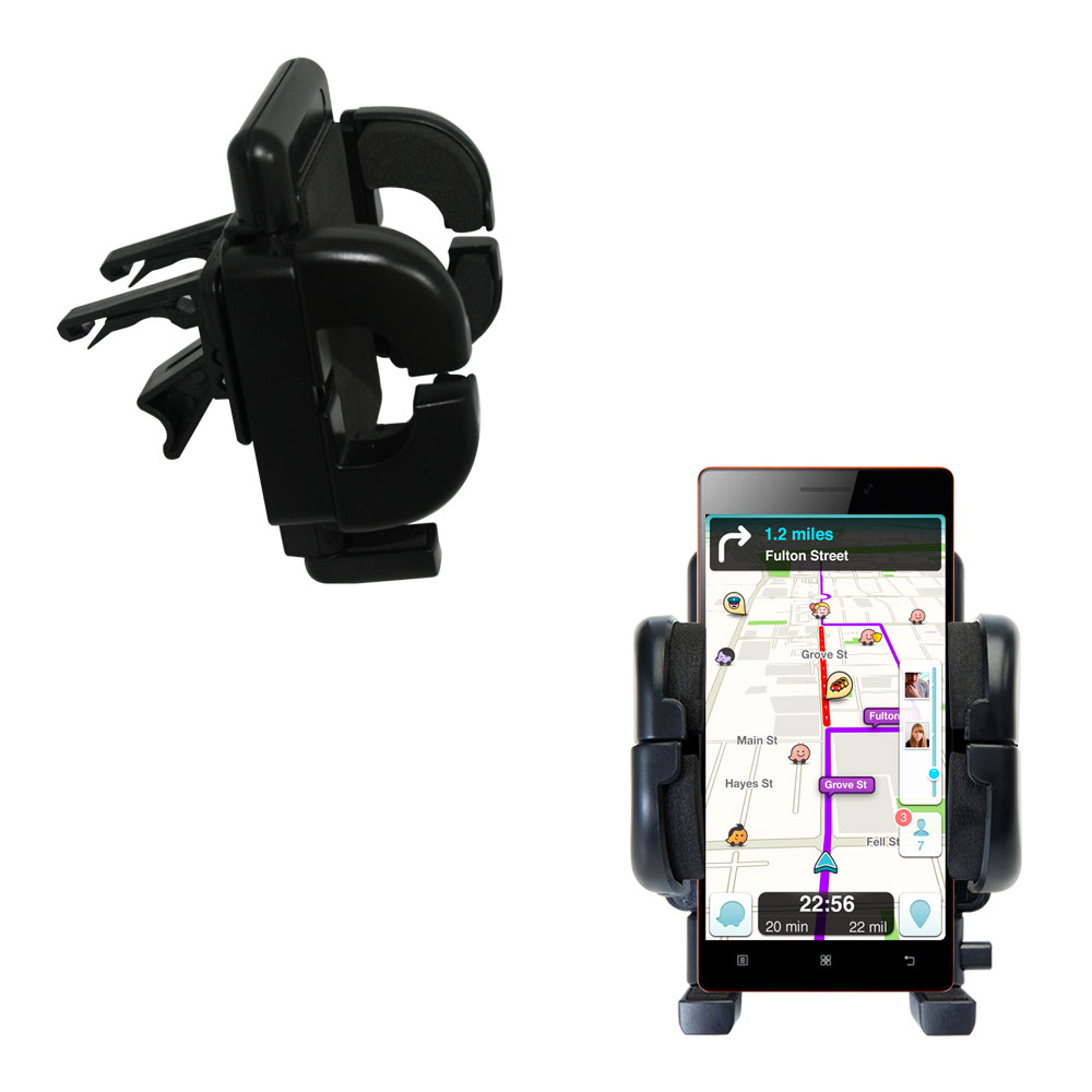 Vent Swivel Car Auto Holder Mount compatible with the Lenovo VIBE X2