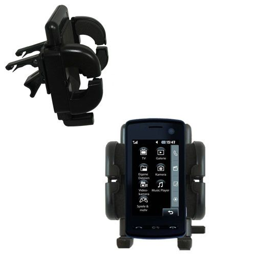 Vent Swivel Car Auto Holder Mount compatible with the LG  KB770