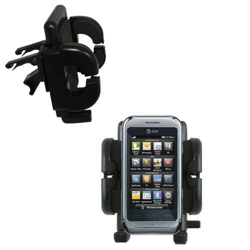 Vent Swivel Car Auto Holder Mount compatible with the LG Arena