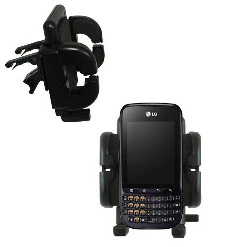 Vent Swivel Car Auto Holder Mount compatible with the LG C660