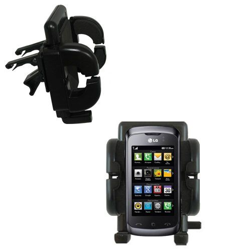 Vent Swivel Car Auto Holder Mount compatible with the LG Clubby