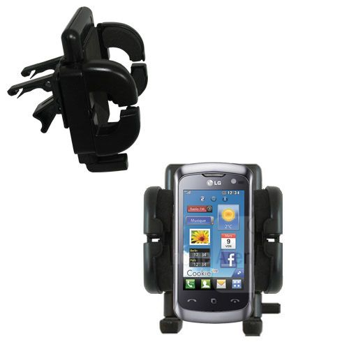 Vent Swivel Car Auto Holder Mount compatible with the LG Cookie Live