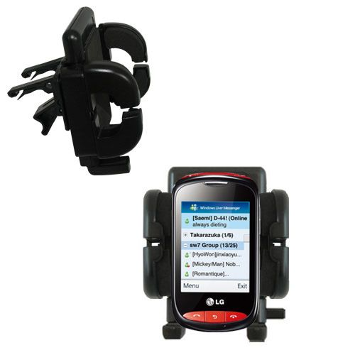 Vent Swivel Car Auto Holder Mount compatible with the LG Cookie Style