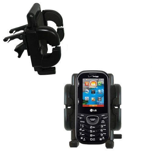 Vent Swivel Car Auto Holder Mount compatible with the LG Cosmos 2