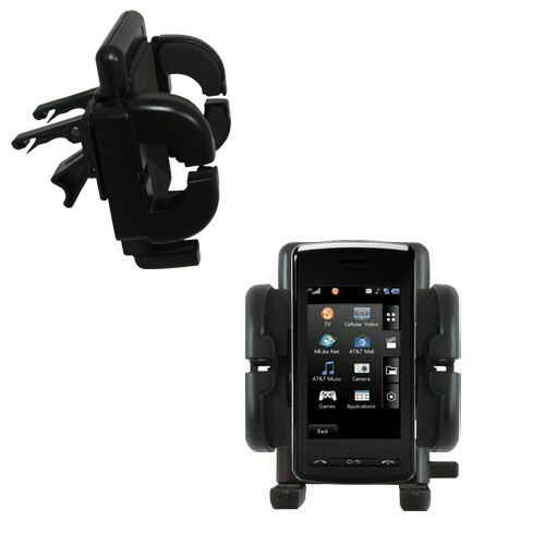 Vent Swivel Car Auto Holder Mount compatible with the LG DARE