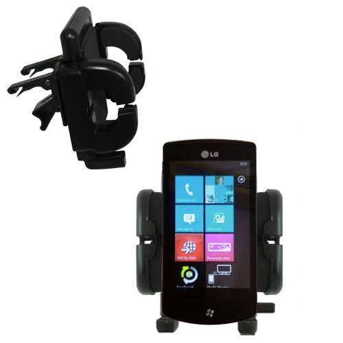 Vent Swivel Car Auto Holder Mount compatible with the LG E900h