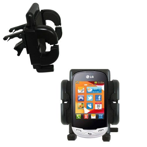 Vent Swivel Car Auto Holder Mount compatible with the LG EGO Wi-Fi