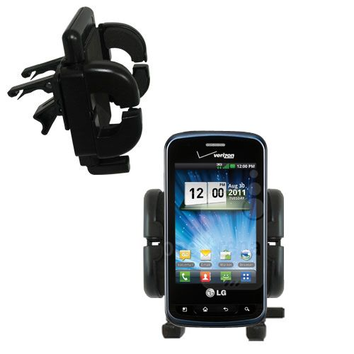Vent Swivel Car Auto Holder Mount compatible with the LG Enlighten