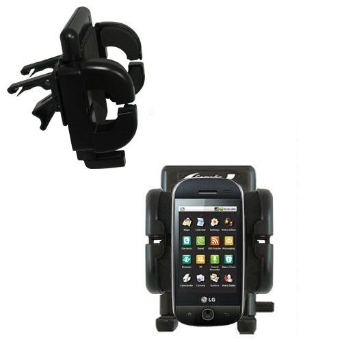 Vent Swivel Car Auto Holder Mount compatible with the LG Eve