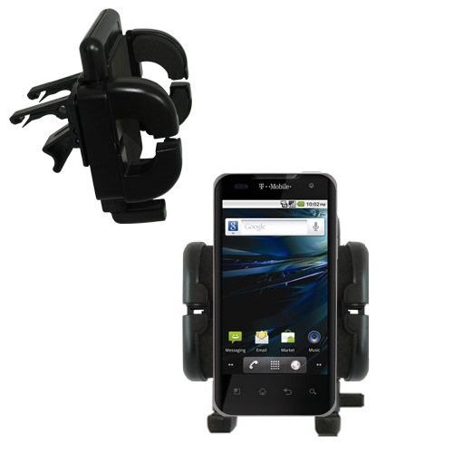 Vent Swivel Car Auto Holder Mount compatible with the LG G2x